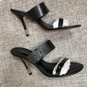 BCBG Max Adria..Women's Leather Open Toe